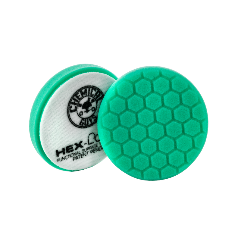 Chemical Guys Green Hex-Logic Heavy Polishing Pad