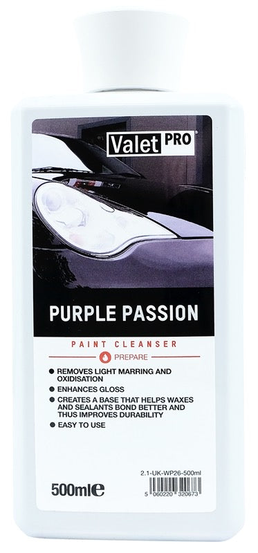 ValetPro Purple Passion (Pre Wax Cleanser) 500ml