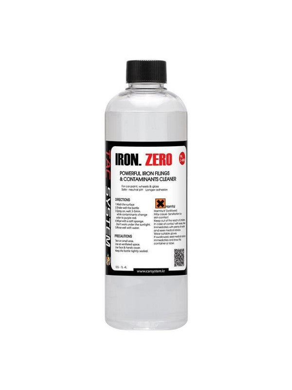TAC Systems - Iron Zero (pH Neutral, De-Ironiser, Brake Dust and Fallout Remover) 500ml