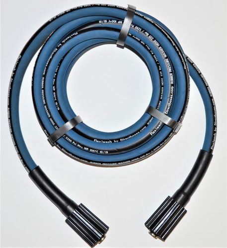 Direct Hoses - Kranzle Pressure Washer Reinforced Non-Kink Replacement FLEXIWASH Rubber Hose