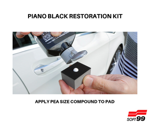 Soft 99 - Piano Black Restoration Kit