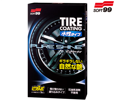 Soft99 Pure Shine Water Based Tyre Shine