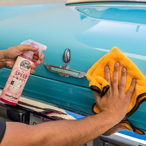 Chemical Guys Vintage Speed Wipe Quick Detailer & High Shine Spray Gloss 473ml