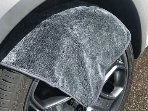 Korean Microfibre - Mini Twister Alloy Wheel Microfibre Drying Towel 16