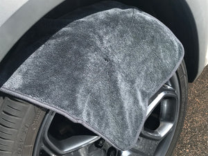 "Korean Microfibre - Mini Twister Alloy Wheel Microfibre Drying Towel 16"" x 16"""