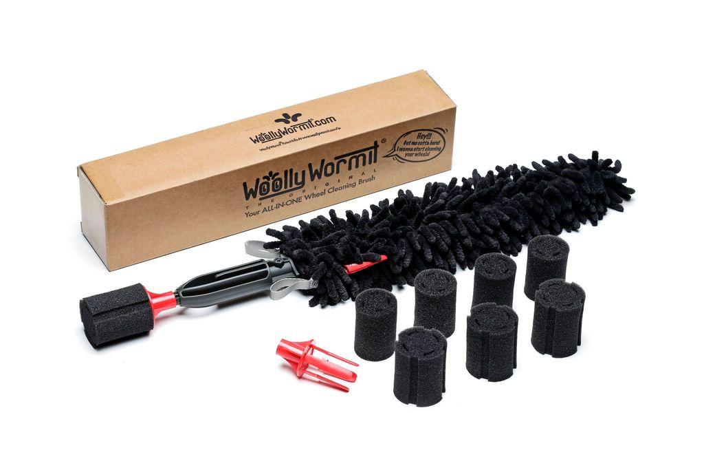 The WoollyWormit (Wheel Brush)