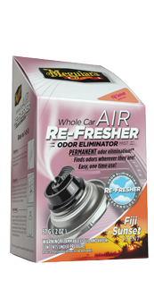 Meguiars Whole Car Air Re-Fresher Odor Eliminator Fiji Sunset Scent 59ml