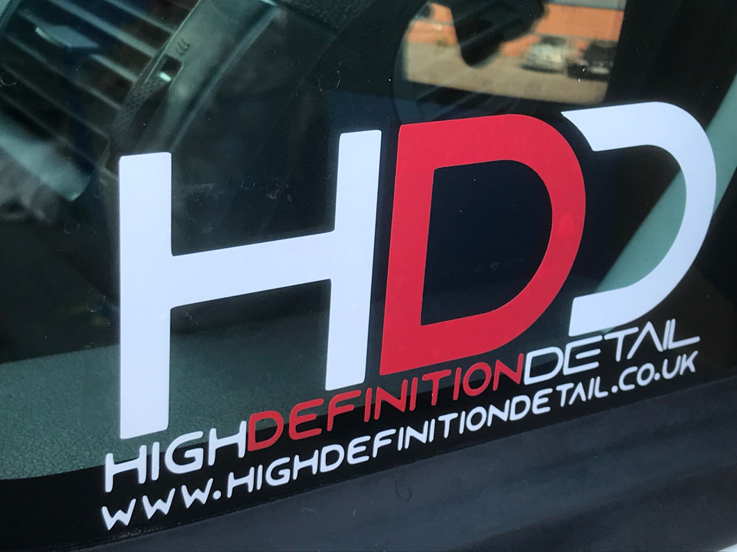 High Definition Detail Sticker (Small)