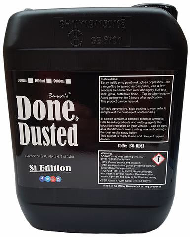Bouncer's Done & Dusted Si Edition 5 Litres