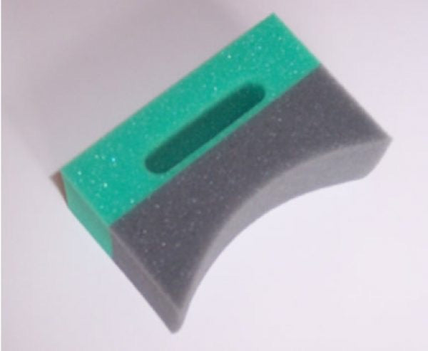 Crescent Tyre Applicator Sponge