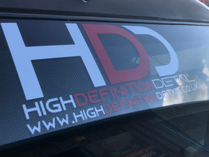 High Definition Detail Sticker (Large)