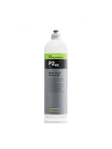 Koch Chemie P2.02 Micro Cut and Finishing Polish with Carnauba Wax