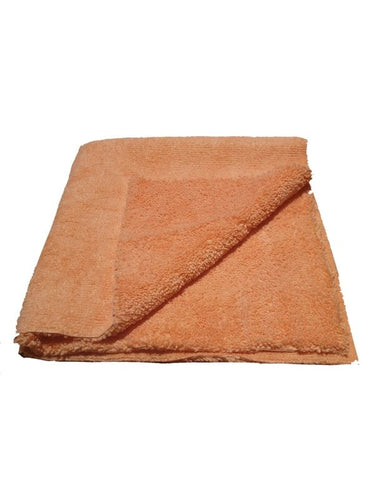 Orange Edgeless 380 Long/Short Pile Microfibre Cloth