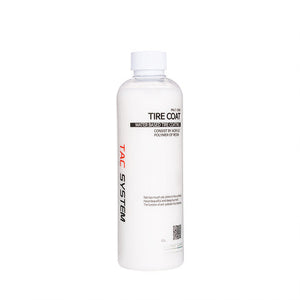 TAC Systems -Tire Coat (Polymer Resin Based Durable Tyre Dressing) 500ml