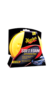 Meguiars Soft Foam Applicator Pads (2 Pack)