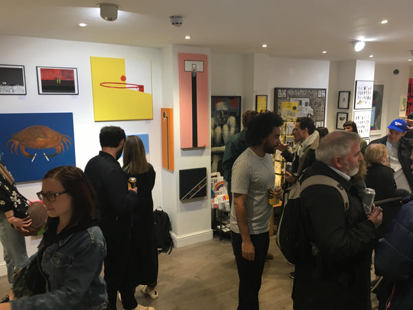 Euan Roberts Private View