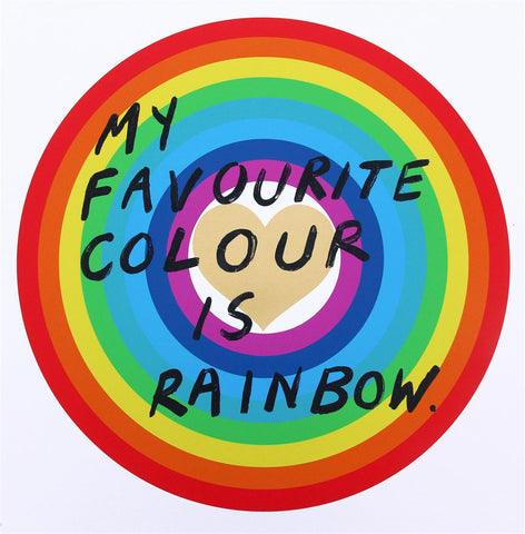 Adam Bridgland - My favourite colour is Rainbow