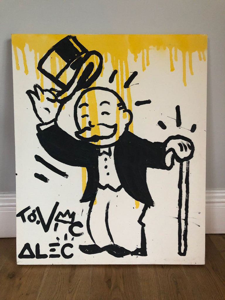 Alec Monopoly - Untitled (Gift Canvas)