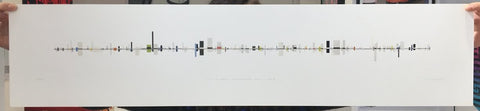Alex Dipple - A Line Of Dashes & Hyphens (Series 3 No. 3) (Artist Proof)