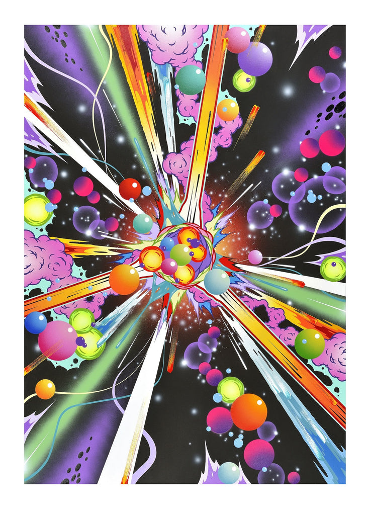 Andrew Mcattee - Ultra Magenetic Smash - Signed Print Silkscreen