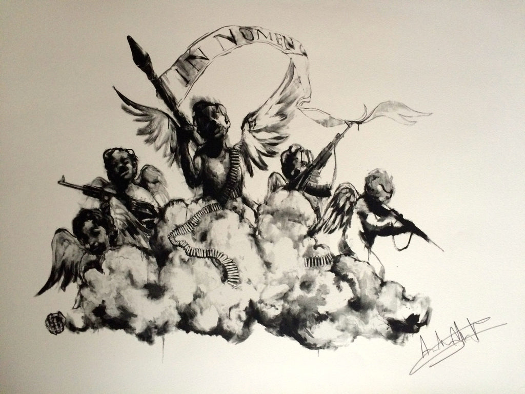 Antony Micallef - Judgement Day - Signed Pictures On Walls Print