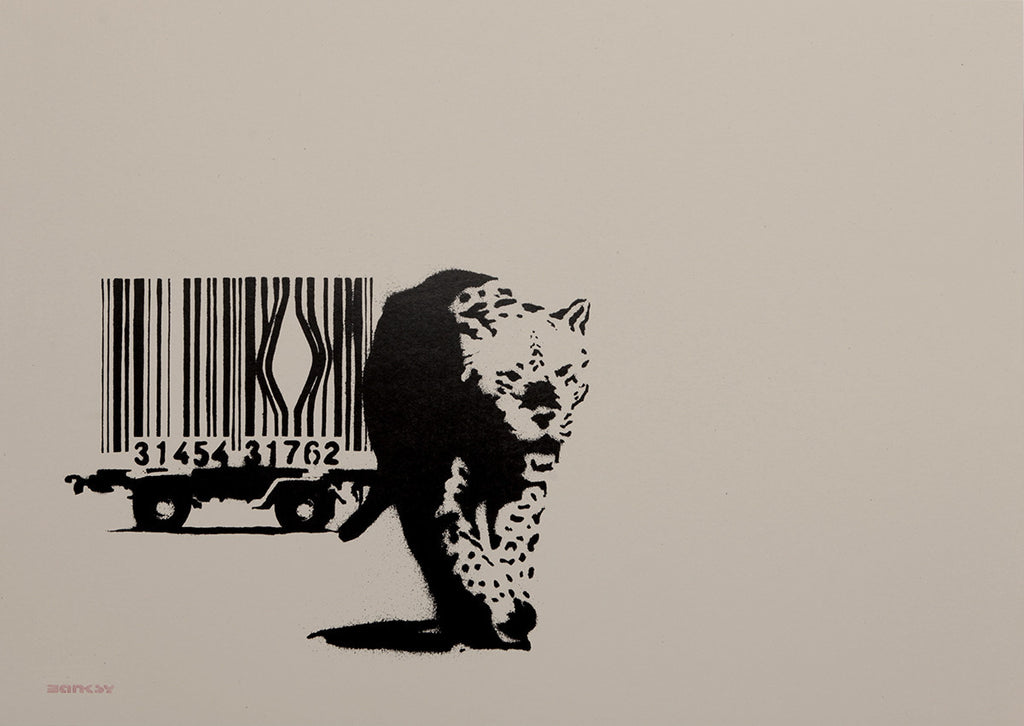 Banksy - Barcode (Signed)