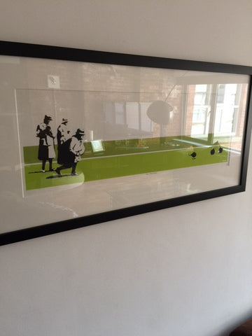 Banksy - Bomb Middle England - BME - Unsigned Print