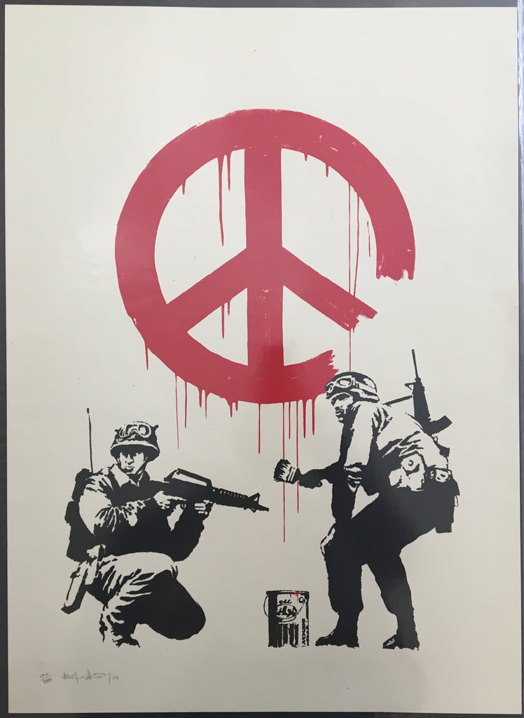 Banksy - CND Soldiers (Signed)