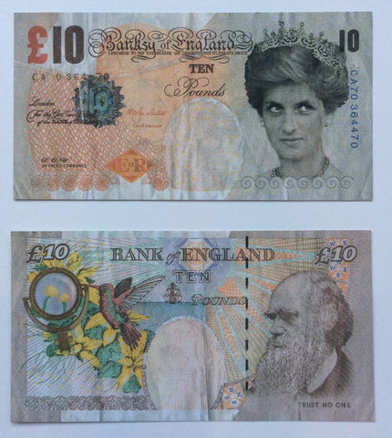 Banksy - Di-Faced Tenner