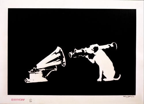 Banksy - HMV Signed Screenprint
