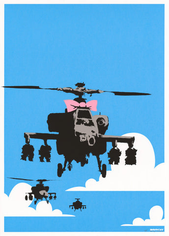 Banksy - Happy Choppers (Signed)