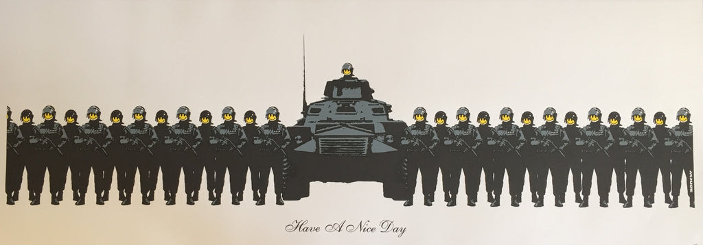 Banksy - Have A Nice Day - Unsigned Print