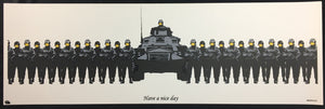 Banksy - Have A Nice Day Unsigned Screenprint