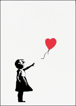 Banksy - Girl With Balloon (Unsigned)
