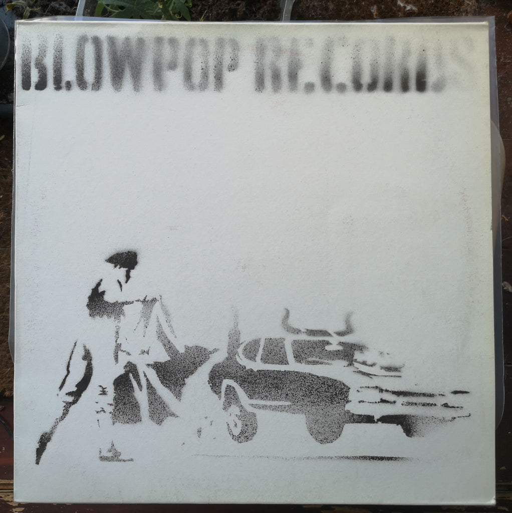 Banksy - Blowpop Records / Capoeira Twins - Hand-Painted Record Sleeve