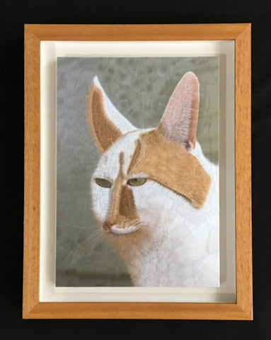 Lola Dupré - Charlie The Destroyer Of Butterflies (Framed Original Collage)