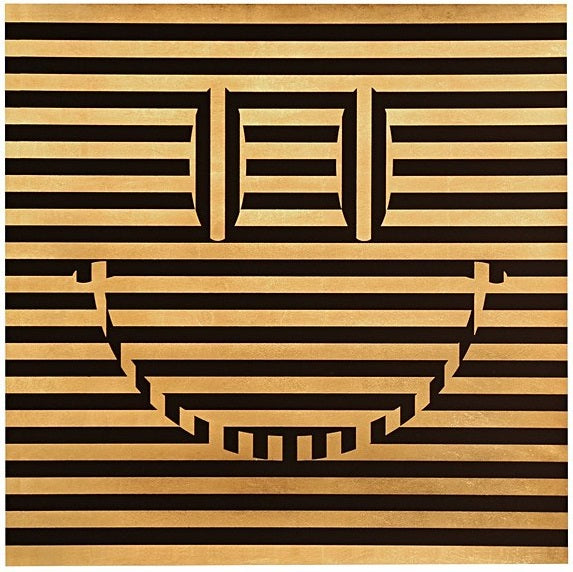 Carl Cashman - Square Acid Reflux Smiley Print