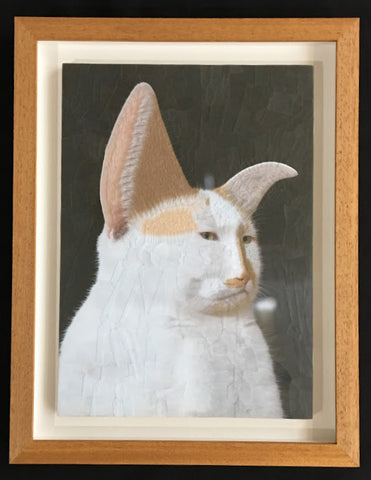 Lola Dupré - Charlie VII Softer (Framed Original Collage)