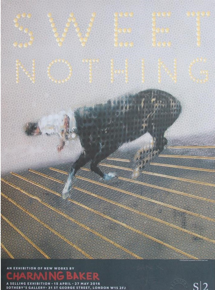 Charming Baker - Sweet Nothing Poster Signed  (Gold)