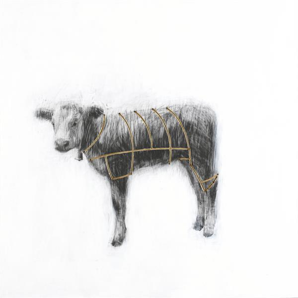Charming Baker - Calf - Signed Giclee Print