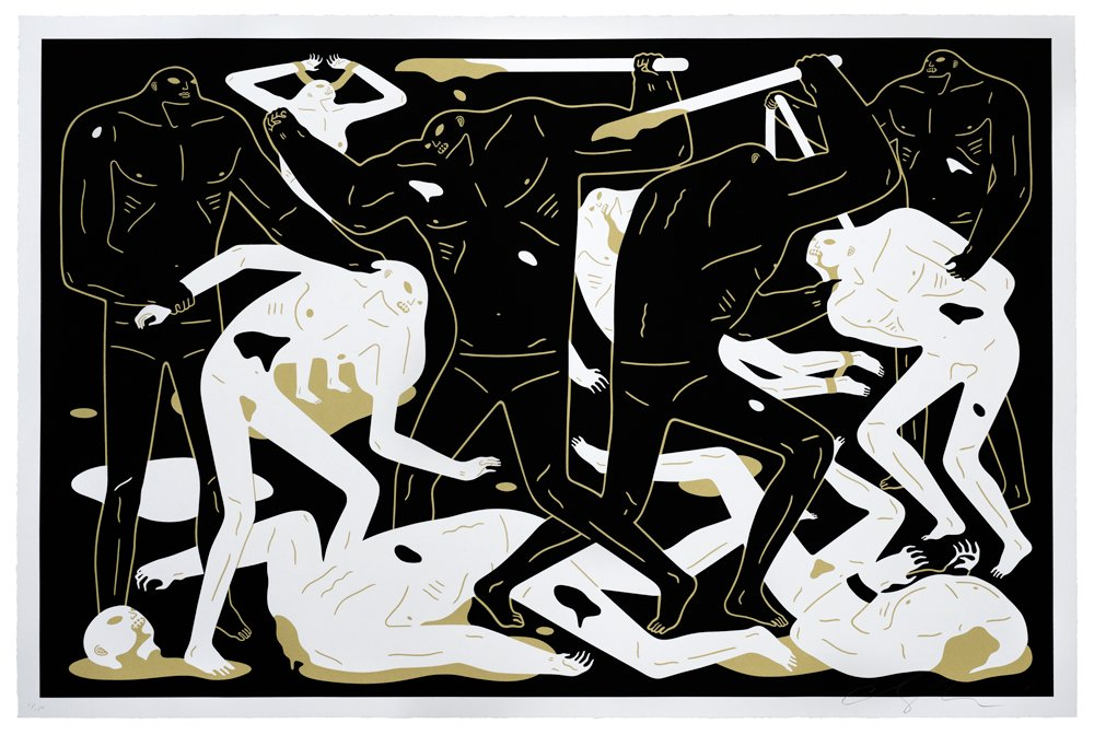 Cleon Peterson - Between Man & God (Black)