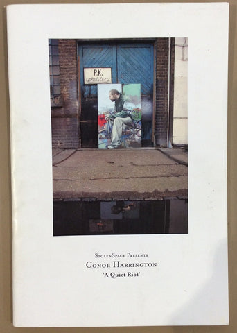 Conor Harrington - A Quiet Riot (Rare Signed Book)