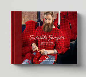 Joseph Ford - Knitted Camouflage Photography Series - Invisible Jumpers Book - Hoxton Mini Press