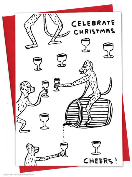 David Shrigley - Christmas Cards (11 Different Designs)