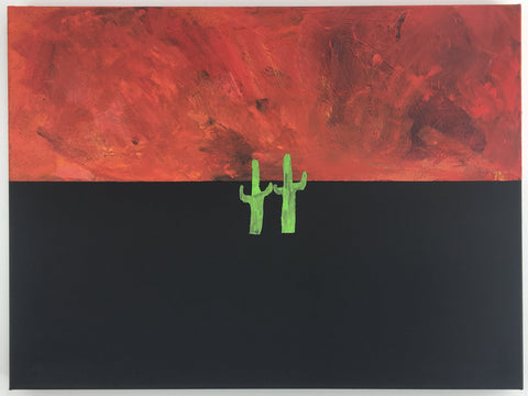 Euan Roberts - Dancing Through The Apocalypse (Original Canvas)
