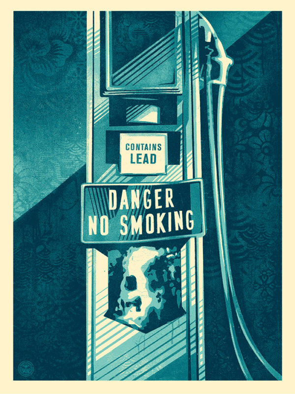 Shepard Fairey - Danger No Smoking