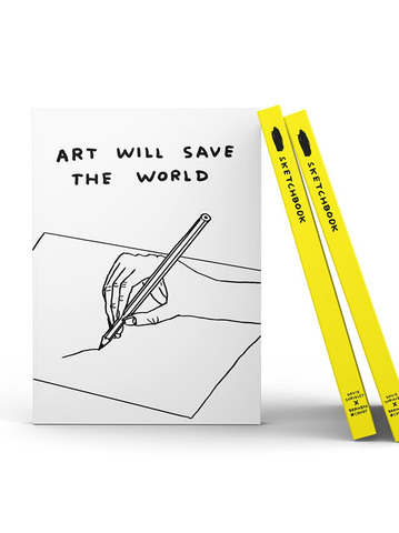 David Shrigley - Art will Save the World (Sketchbook)