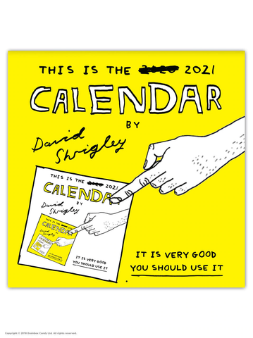 David Shrigley - 2021 Calendar