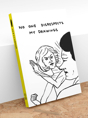 David Shrigley - No One Disrespects My Drawings (Sketchbook)