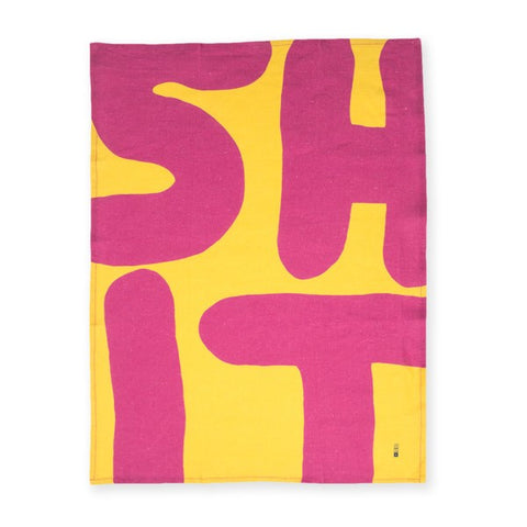 David Shrigley - Shit (Tea Towel)